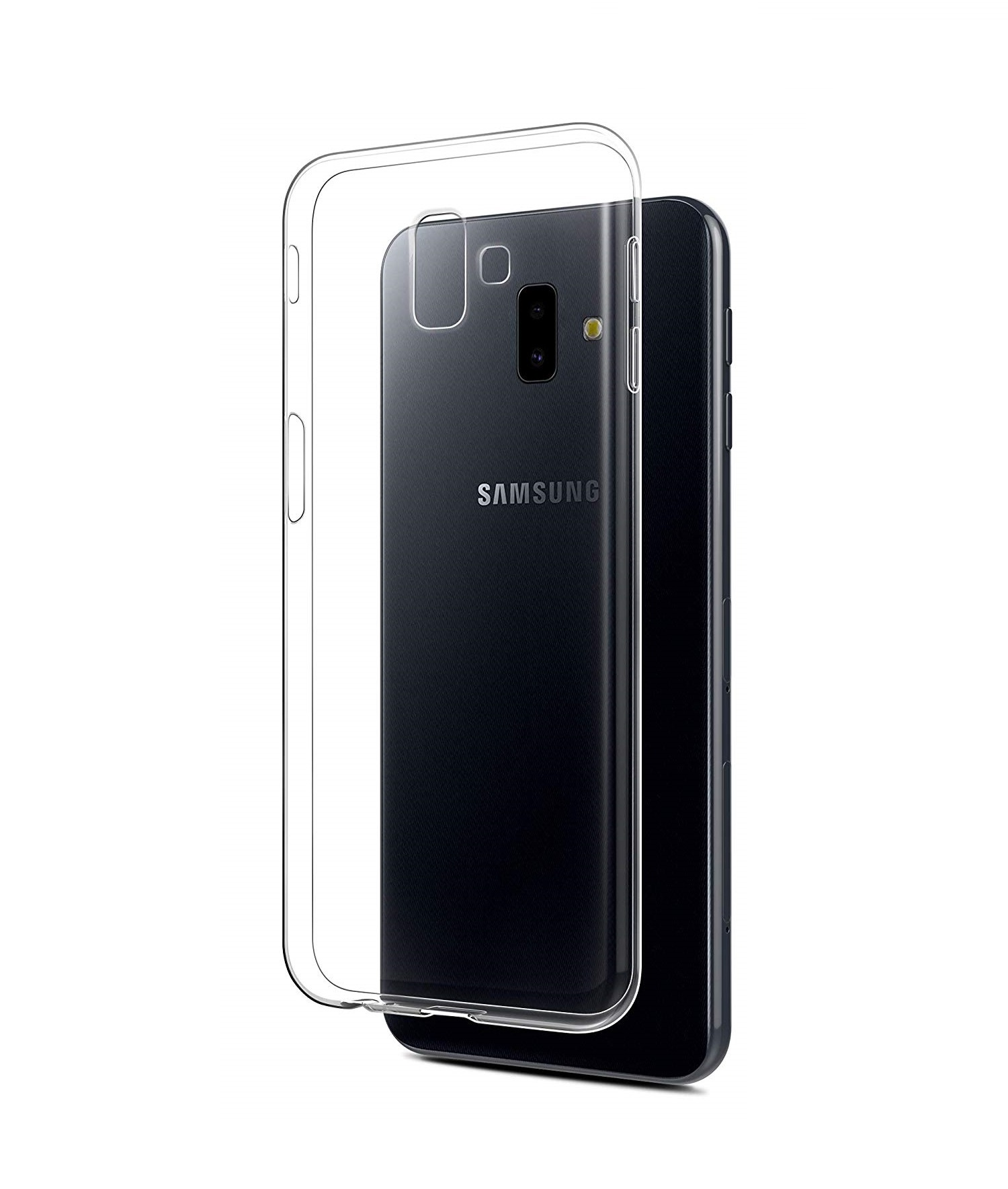 best loved d7906 405d5 Samsung Galaxy J6 Plus Case Cover Clear